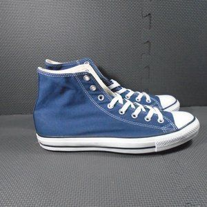 Mens Sz 10 Converse Blue High Top Sneakers